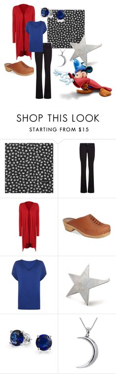 """Kimmi-Fantasia"" by kimmig on Polyvore featuring Yves Saint Laurent, Paige Denim, WearAll, MIA, Bling Jewelry and Carolina Glamour Collection"