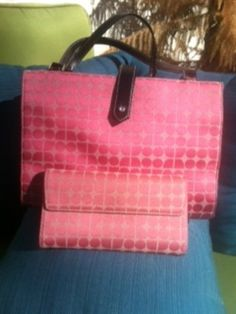 AUTHENTIC Kate Spade Tote & Wallet Set - $165