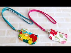 How to make a coin purse Pencil Case Tutorial, Japan Bag, Pouch Pattern, Bag Making, Sunglasses Case, Coin Purse, Pouches, Diy Crafts, Personalized Items