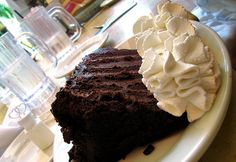 BLACKOUT CAKE - If you like The Cheesecake Factory & Linda's Fudge Cake, you'll love this cake!