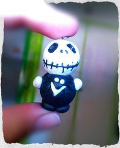 Jack skeleton! de arcilla polimérica, hecho a mano