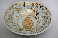 Centenary Bowl painted by Miranda Thomas for the Royal Automobile Club in London which was designed by her Grandfather, Arthur Davis.