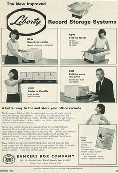 Bankers Box Company Box Company, Record Storage, New Set