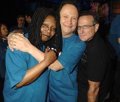 Whoopi Goldberg, Billy Crystal and Robin Williams - Jeff Kravitz/FilmMagic