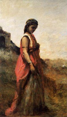 Thé au Jasmin: Jean-Baptiste-Camille Corot, Orientales