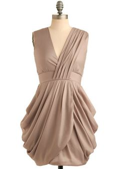 Lovely taupe dress