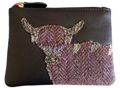 Purple Possum/® Coin Purse RSPB Grey Birds Small Money Pouch Ladies Girls Purse