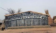 Burkina Faso Maison Kassena photo Rita Wiallaert