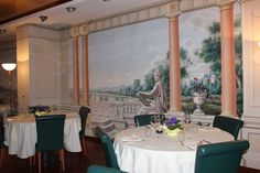 Hotel il Canova - detail of the Dining Room