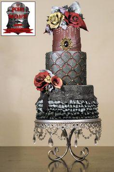 Mena - The Penny Dreadful Cake Collaboration by Rebekah Naomi Cake Design