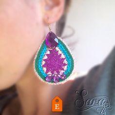 Be colorful- be funny- be happy!!!  Available for sale!  http://ift.tt/1W8yEXI #new #earrings #jewellery #jewelery #handmade #homemade #masterpiece #colorful #yarn #multicolor #crochet #rhinestones #boho #bohemian #bohochic #bohogirl #bohoglam #hippie #gypset #gypsy #tribaljewelry #tribal #handmadejewelry #urbanstyle #streetfashion #forsale #fattoamano #fashionaddict #fashionjewelry #fashionaddict