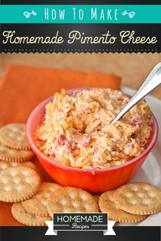 Homemade Pimento Cheese Recipe My changes: Left out cayenne. Added black pepper and chopped jalapeno. Used a jar of chopped pimento. Such a great pimento recipe! Pimento Cheese Recipe Pioneer Woman, Homemade Pimento Cheese, Pimento Cheese Recipes, Pimiento Cheese, Cheese Dips, Cheesy Recipes, Beltane, Appetizer Recipes, Appetizers