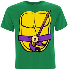TMNT  This premium cotton t-shirt with taped neck and shoulders is made from 100% ringspun preshrunk cotton so you can machine-wash with confidence!  Weight: 180gsm