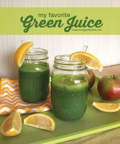 My Favorite Green Juice >> Dianne's Vegan Kitchen