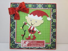 Christmas Elf and Stamp Giveaway