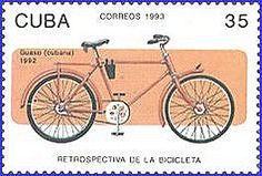 Timbre #vélo, 1993, Cuba (via TIMBROVELO)