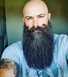 Bald With Beard, Bald Men, Beard Love, Men's Haircuts, Haircuts For Men, Epic Beard, Awesome Beards, Hair And Beard Styles, Male Face