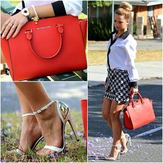 Michael Kors Selma, Shirt, Skirt, Kurt Geiger Shoes, Bowerhaus Bracelet