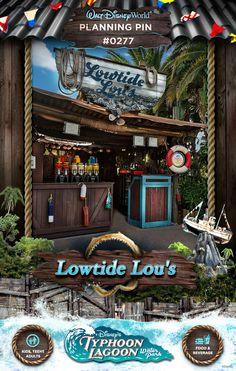 Walt Disney World Planning Pins: Lowtide Lou's