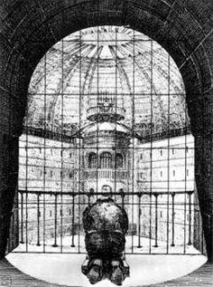 El panóptico de Bentham