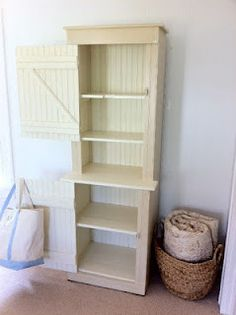 Primitive hutch - ASCP old white & old ochre