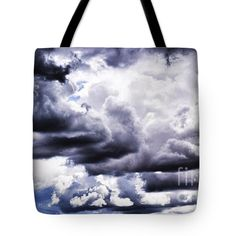 "Wyoming Afternoon Tote Bag by Flamingo Graphix John Ellis (18"" x 18"").  The tote bag is machine washable, available in three different sizes, and includes a black strap for easy carrying on your shoulder.  All totes are available for worldwide shipping and include a money-back guarantee."