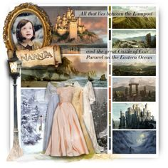 The Land of Narnia, BOTFF / Round 2 by of-simple-things on Polyvore featuring art