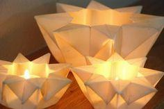 Origami Maniacs: Waldorf Star Lantern