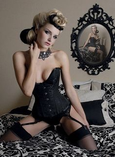 Womens corsets are made to be custom-fitted and different kinds of corsets can be flattering to women of all shapes and sizes. #SexyDress #WomensWear