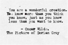 Oscar Wilde, The Picture of Dorian Gray