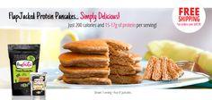 FlapJacked Protein Pancakes
