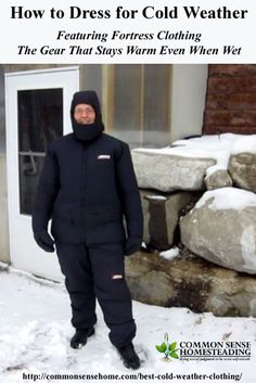 Best Cold Weather Clothing - Fortress Cold Weather Gear insulates and wicks moisture away from your skin so you stay warm, dry and comfortable down to -30F.