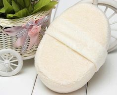Natural Loofah Luffa Sponge Face Body Bath Shower Spa Exfoliator Scrubber Pad E2shopping