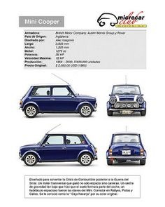 Rover Mini Cooper, Mini Cooper Sport, Mini Cooper Classic, Classic Mini, Classic Cars, Mini Moris, Club Mexico, Morris Traveller, Cool Car Pictures