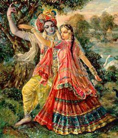 krsna with satyabhama