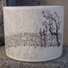 Stone wall Felt Lampshade £55.00