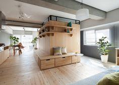 Décoration de deux appartement minimalistes Japonais - Visit the website to see all pictures http://www.amenagementdesign.com/decoration/decoration-appartement-minimalistes-japonais