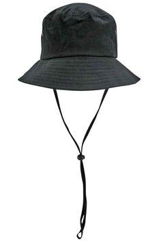 3bb85b942e0 Cotton Boonie Safari Bucket Hat With Chin Cord