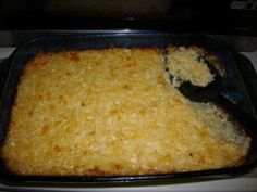 I use Cream of Onion Soup.  Hate Chicken Soup!  In fact I hate chicken!  Cracker Barrel Potato Casserole/Hash Browns Casserole - Copycat