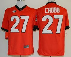 Nick Chubb 27 College Football Jersey Player Name, Number & Team Graphics are sewn. Adult Size M (48) L (50) XL (52) XXL (54) XXXL (56)