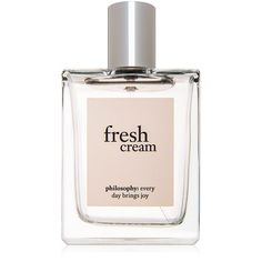 philosophy philosophy Fresh Cream Eau de Toilette (51 CAD) ❤ liked on Polyvore featuring beauty products, fragrance, filler, makeup, philosophy fragrance, eau de toilette perfume, philosophy perfume, edt perfume and eau de toilette fragrance