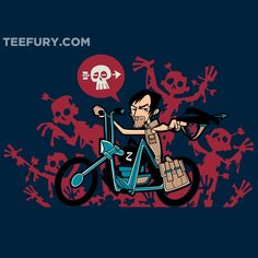 It's a Chopper Baby! by NikHolmes - Shirt sold on May 24th at http://teefury.com - More by the artist at https://www.facebook.com/zombiedollarcreative