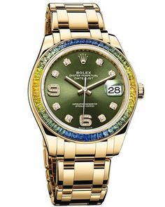 Rolex Oyster Perpetual Datejust Pearlmaster 39 86348SABLV