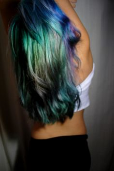 Don't have the balls to do this but I actually think this is gorgeous!