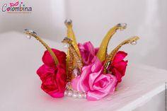 Купить или заказать Корона принцессы роз в интернет-магазине на Ярмарке Мастеров. корона принцессы роз…