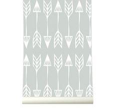 Behang Arrows grey
