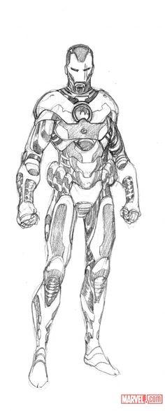 iron man design by salvador larocca