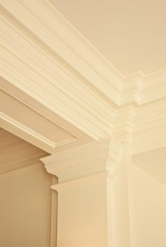 Instant Access To Woodworking Designs, DIY Patterns & Crafts Moldings And Trim, Crown Molding, Moulding, Architecture Details, Interior Architecture, Wall Trim, Trim Work, Interior Decorating, Interior Design