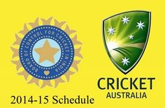 Finding India vs Australia 2014-15 series schedule and time table? Then get fixtures and schedule of India's tour of Australia in December-January here.