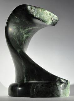 The Wave - handmade from soapstone by Stephanie Jaekel